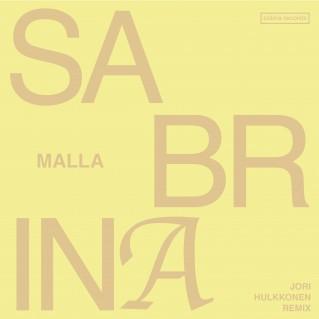 Malla_Sabrina remix single_yellow_3000x3000px3